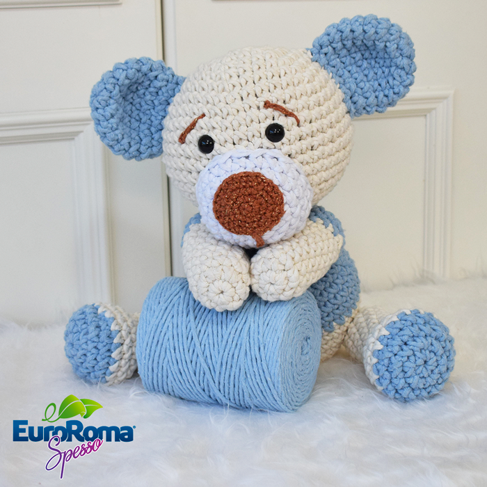 amigurumi #urso urso Barroco Maxcolor - YouTube | 700x700